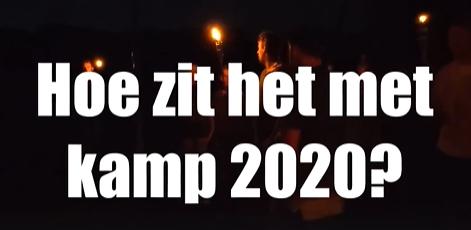 Hoe zit het met kamp 2020?