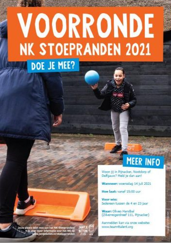 Voorronde NK stoepranden 2021